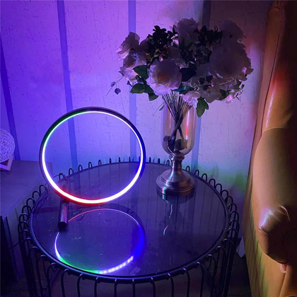 LED Neon Color Ring Lamp - Modern Geek Store