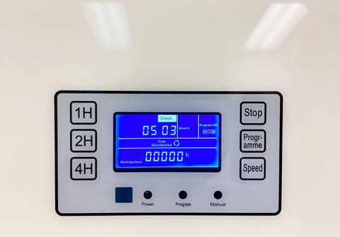 Photo of UV CAN Cosmos Wall Mount's digital display panel