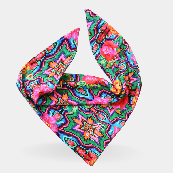 Dog bandana FLOWER POWER