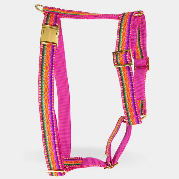 Dog harness IBIZA pink