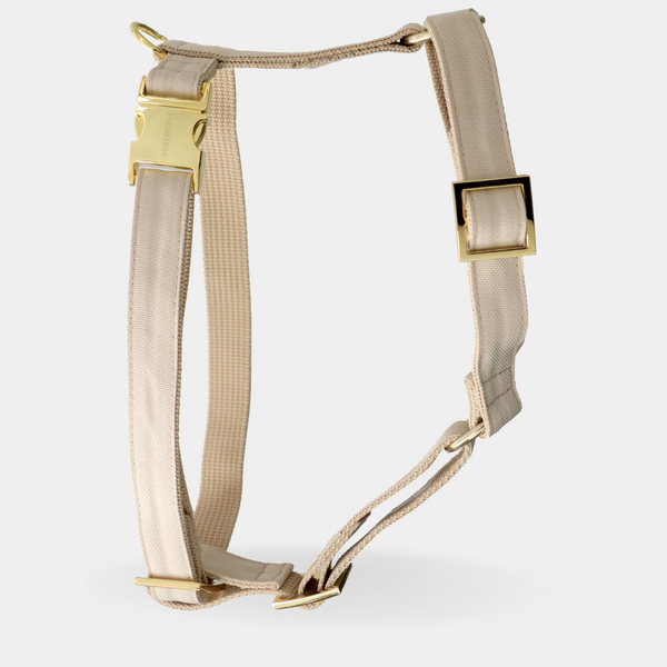 Dog harness CREAM