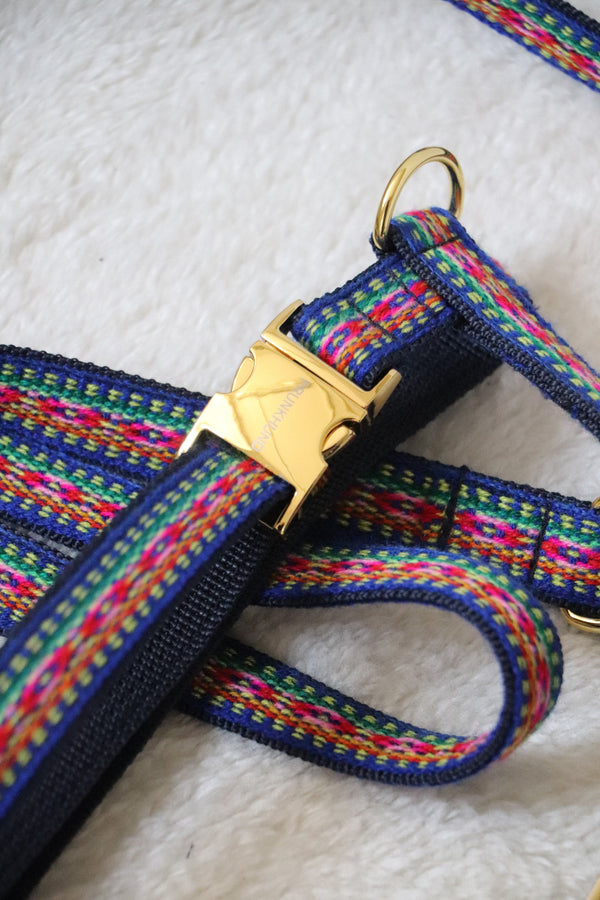 Dog harness IBIZA blue