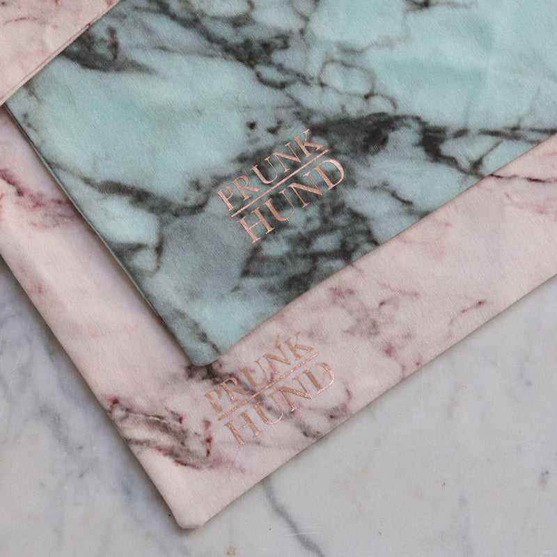 Dog scarf MARBLE MINT
