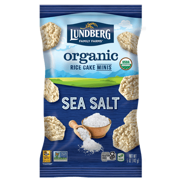 Organic Rice Cake Minis - Sea Salt
