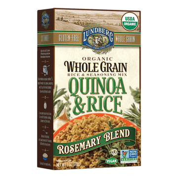 Organic Whole Grain Rice & Quinoa - Rosemary Blend