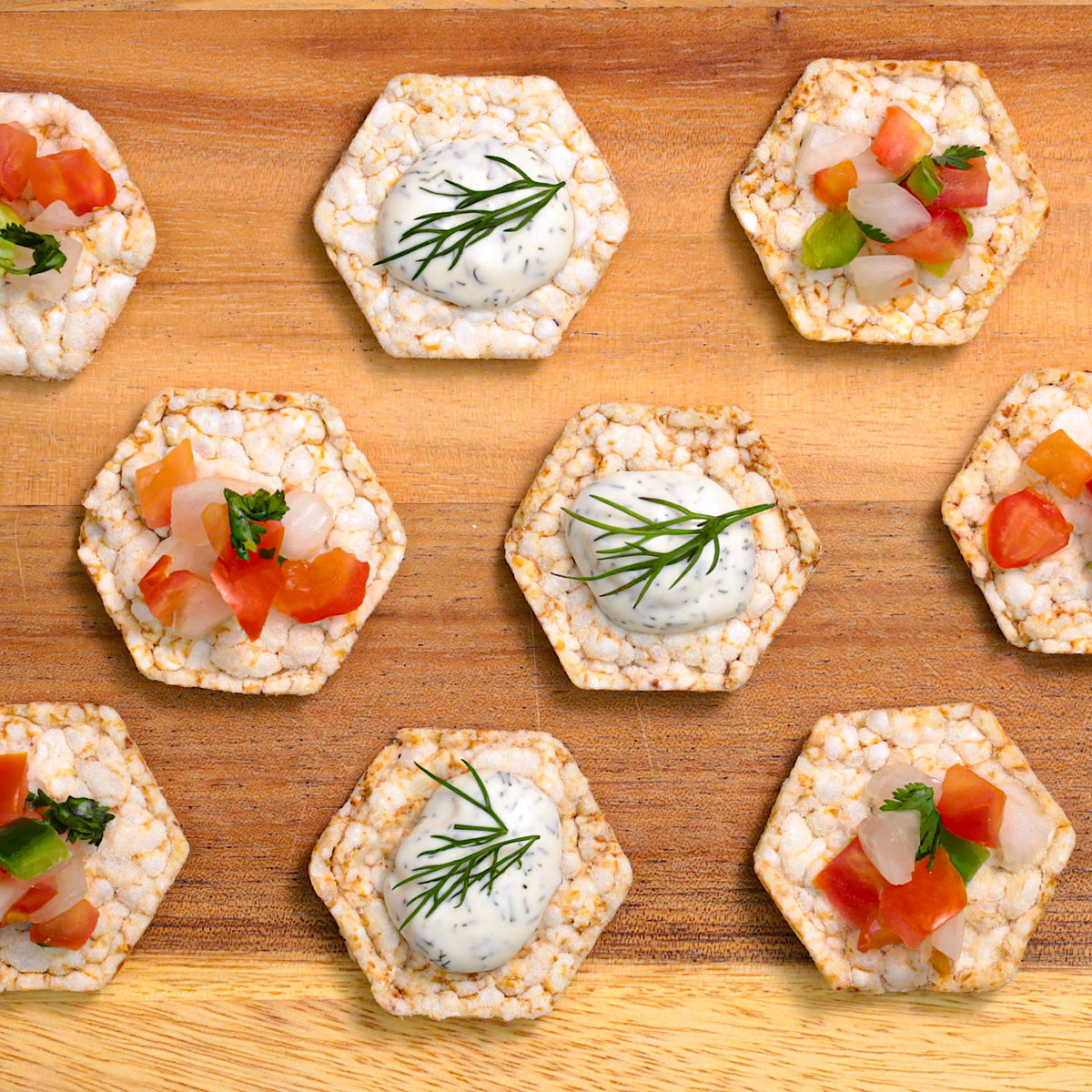 Organic Rice Cake Minis - Buffalo Ranch