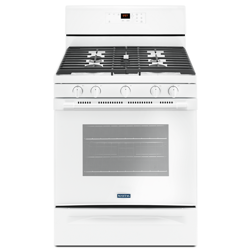 30-INCH WIDE GAS RANGE WITH 5TH OVAL BURNER - 5.0 CU. FT. MGR6600FW