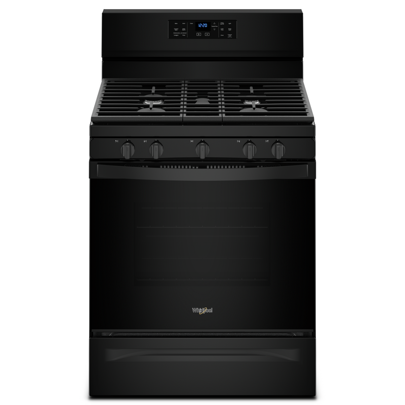 5.0 cu. ft. Freestanding Gas Range with Fan Convection Cooking WFG550S0HW