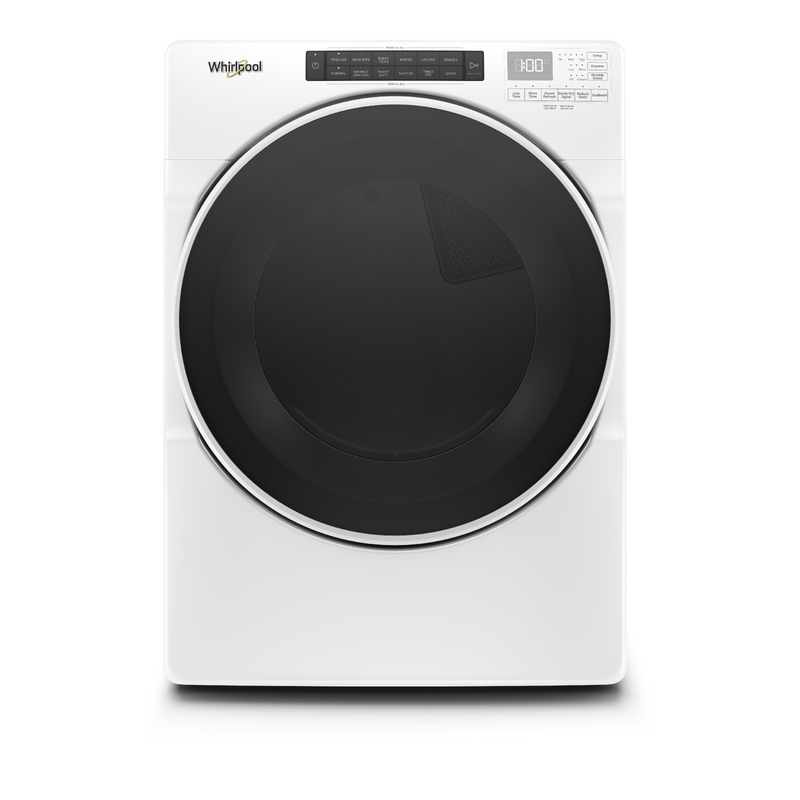7.4 cu. ft. Front Load Electric Dryer with Steam Cycles YWED6620HW