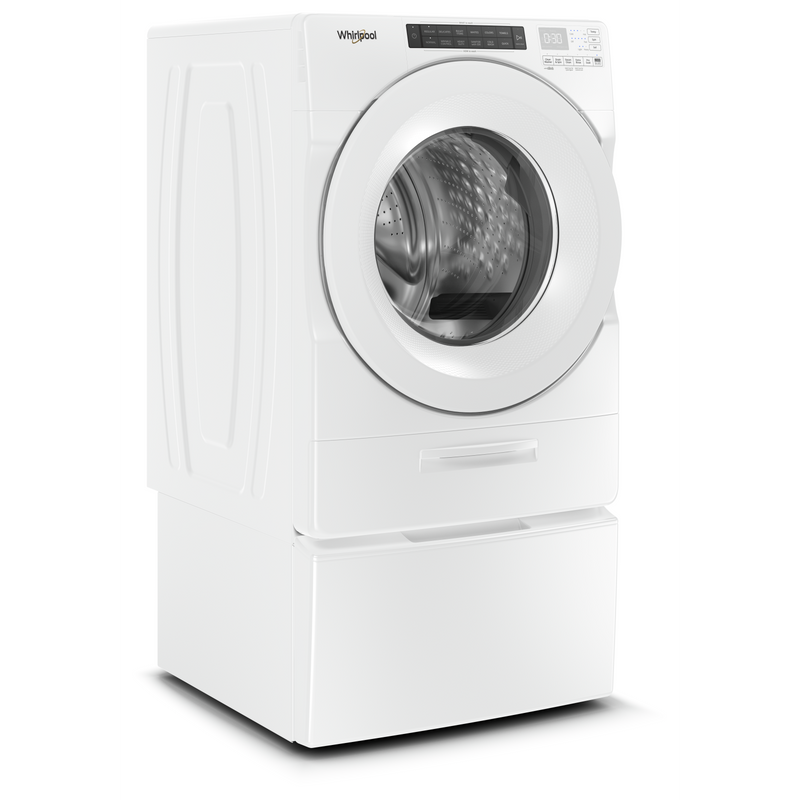 5.2 cu. ft. I.E.C. Closet-Depth Front Load Washer with Load & Go™ Dispenser WFW5620HW