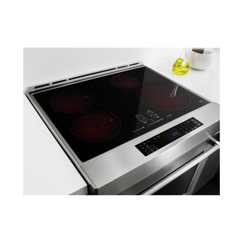 30-Inch 4-Element Induction Convection Front Control Range with Baking Drawer KSIB900ESS
