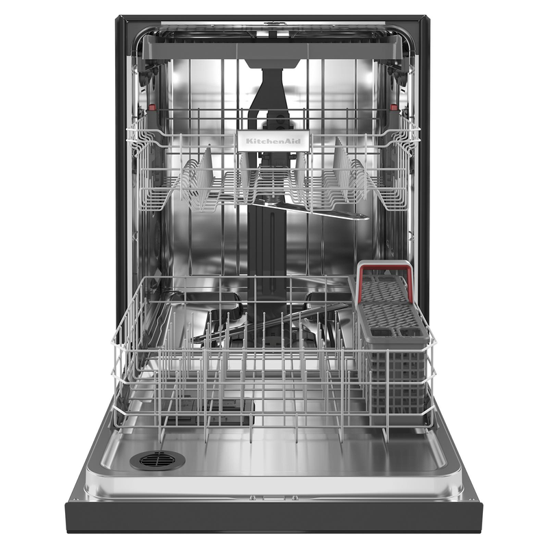 KitchenAid® 39 dBA Dishwasher with Third Level Utensil Rack KDFE204KBL