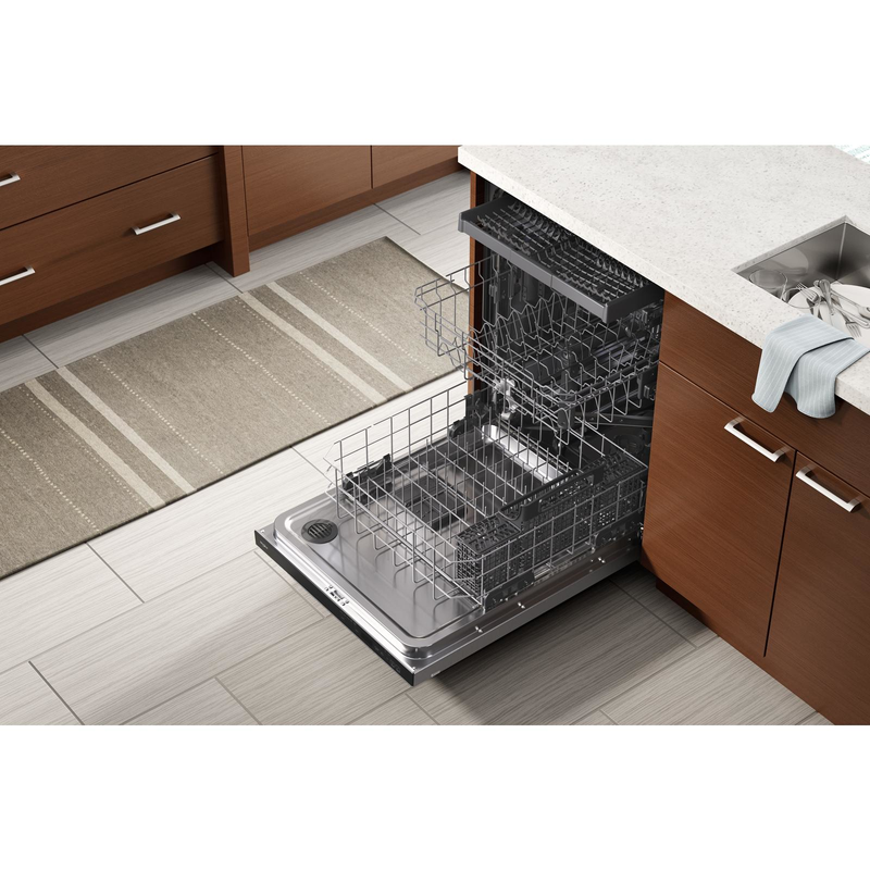 Large Capacity Dishwasher with 3rd Rack WDTA50SAKZ