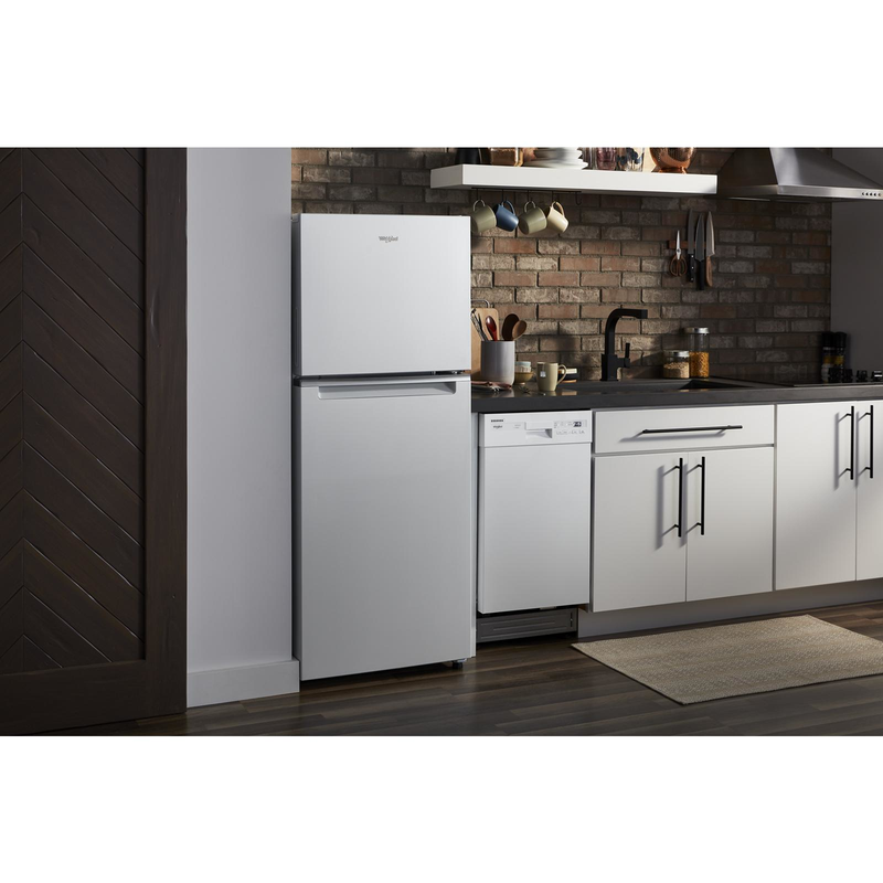 Small-Space Compact Dishwasher with Stainless Steel Tub WDF518SAHW