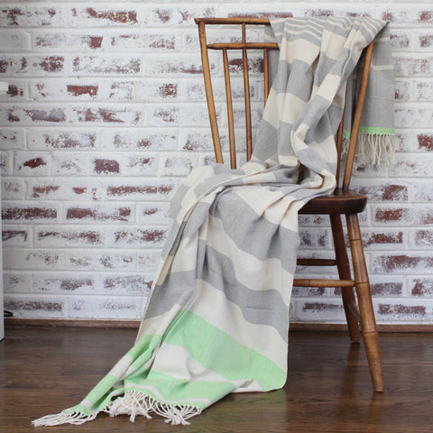 BEV | Blanket & Throw | Lime