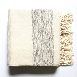IAM handwoven cotton blanket created by Living Threads Co. artisans in Nicaragua.