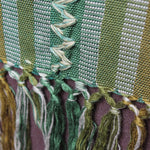 Guatemalan Handwoven ceiba silk Blanket / Throw by Living Threads Co