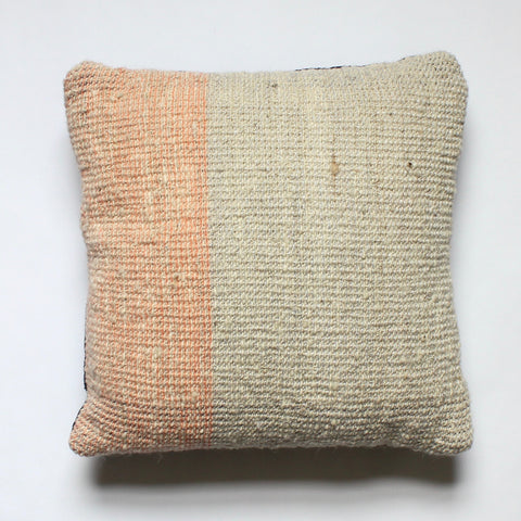Hand Woven Wool Pillow by Living Threads Co. artisans