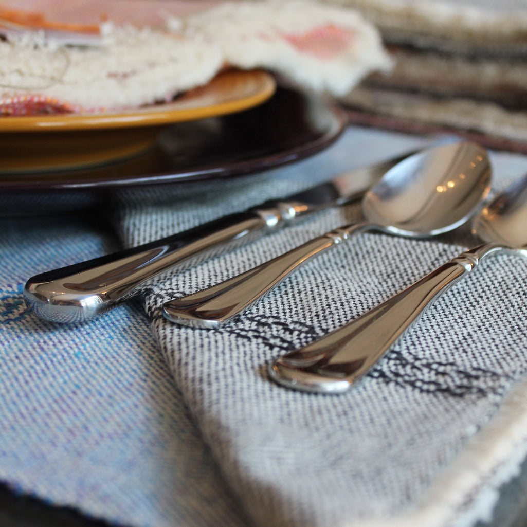 Handwoven cloth cotton napkins handmade by Living Threads Co partner artisans