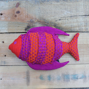 Fish Plush - Handwoven by Living Threads Co. partner artisans in Guatemala