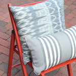 IKAT | Pillow Case | Grey