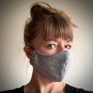 handcrafted cotton reusable washable cotton face mask