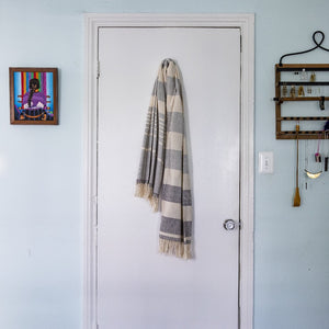 Towel by Living Threads Co. in 100% cotton handcrafted by artisan in Nicaragua