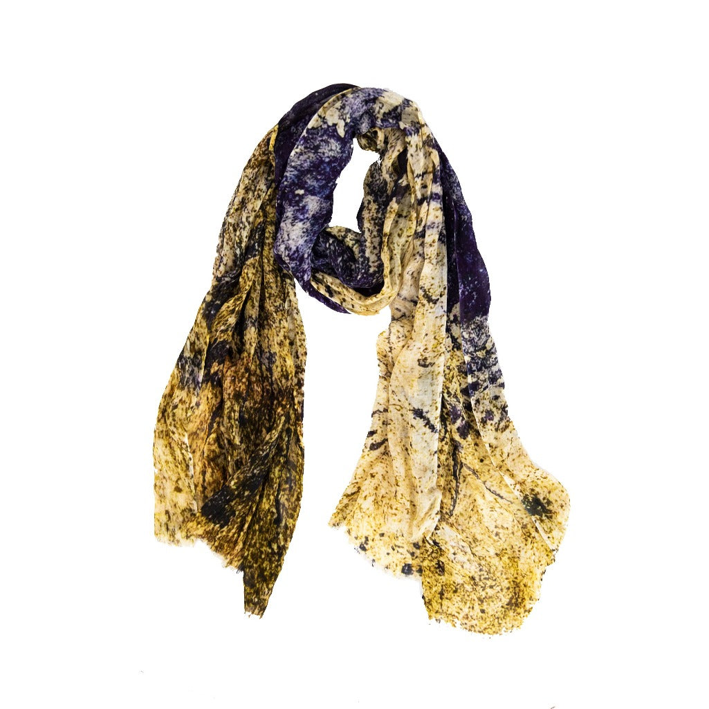 AINT | Handwoven Bamboo Silk Scarf by Living Threads Co. partners in Nepal