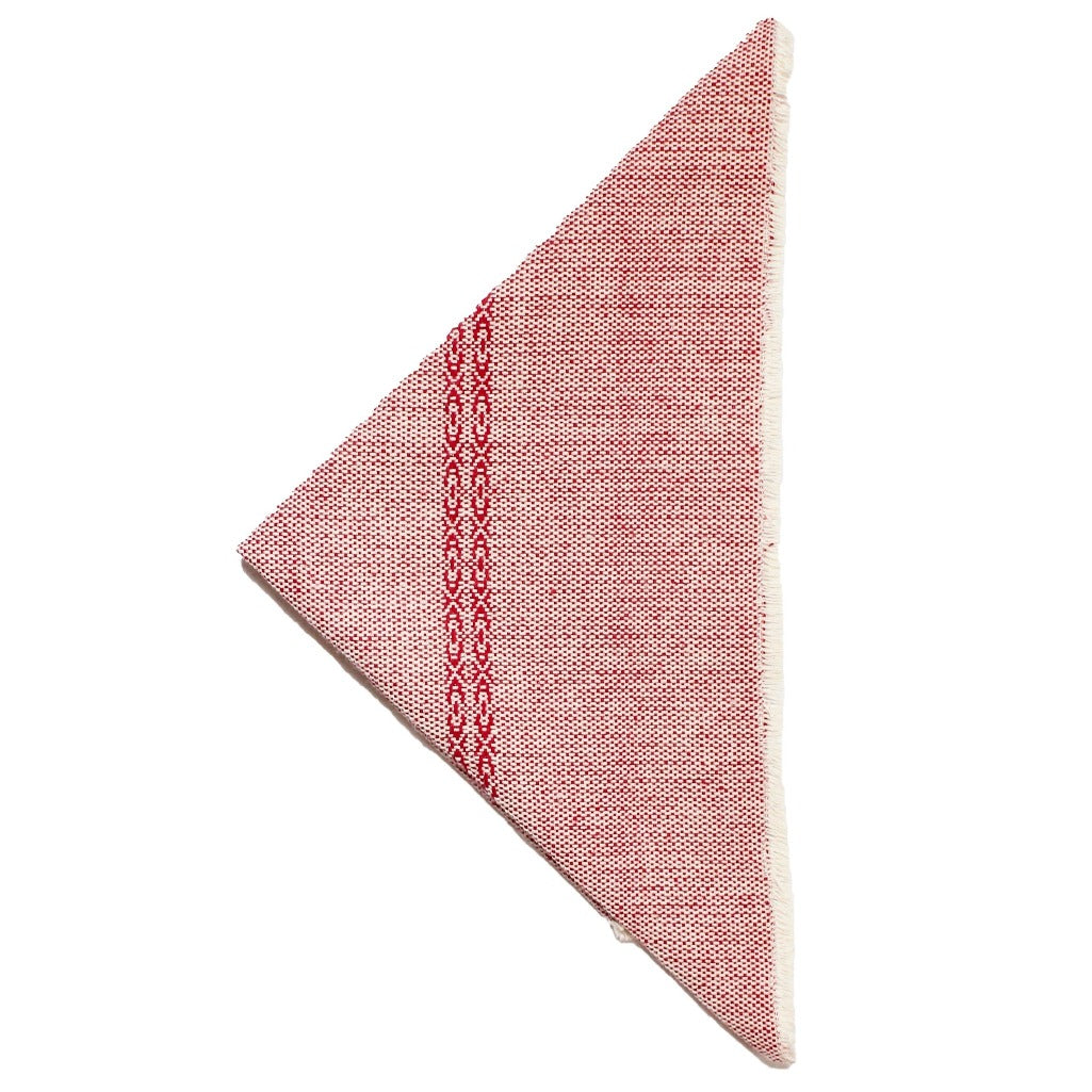 Red Living Threads Co. handcrafted cotton napkins eco-dyed and crafted by Nicaraguan partner artisans.