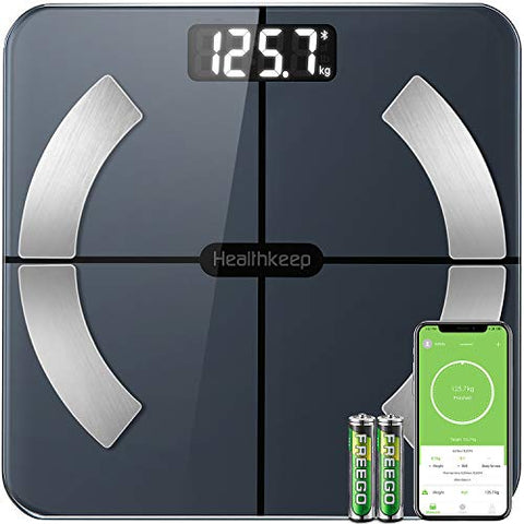 Bluetooth Body Fat Scales Smart Bathroom Scale Digital Body Weight Scales BMI