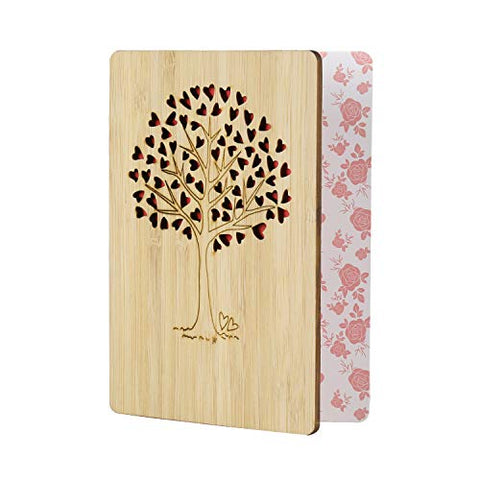 Greeting Cards, Bamboo Premium Handmade Greeting Cards