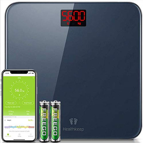 Scales for Body Weight Bathroom Scales Digital Bluetooth Weight Scale with BM
