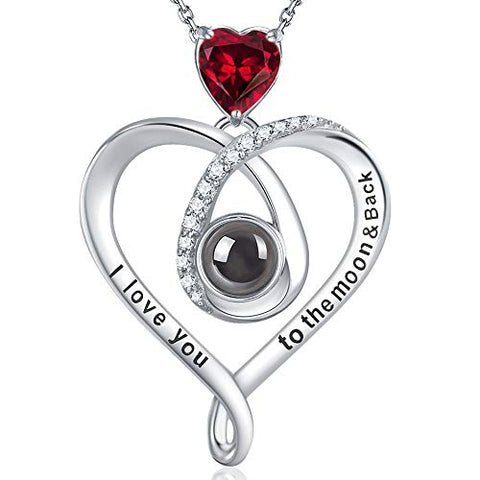 "Valentines Day ""I Love You"" Necklace"