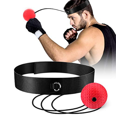 Boxing Reflex Ball, Boxing Training Ball, Mma Speed Training Suitable for Adult/Kids