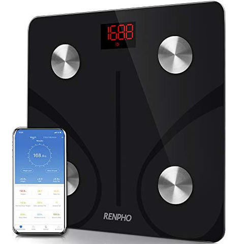 Body Fat Scale Bluetooth, Digital Body Weight Bathroom Scales Weighing Scale