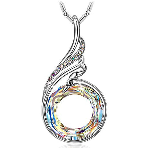 Necklace for Women Valentines Gifts for Her Crystal