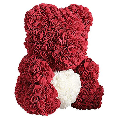 Artificial Rose Bear -Teddy Bear Preserved Rose Forever Flower