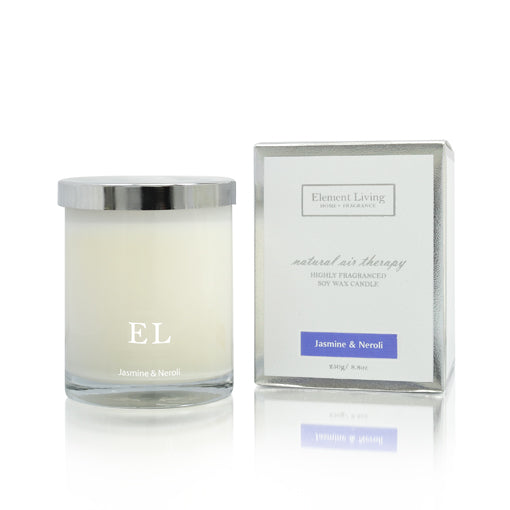 Home Fragrance | Jasmine & Neroli Scented Soy Candle