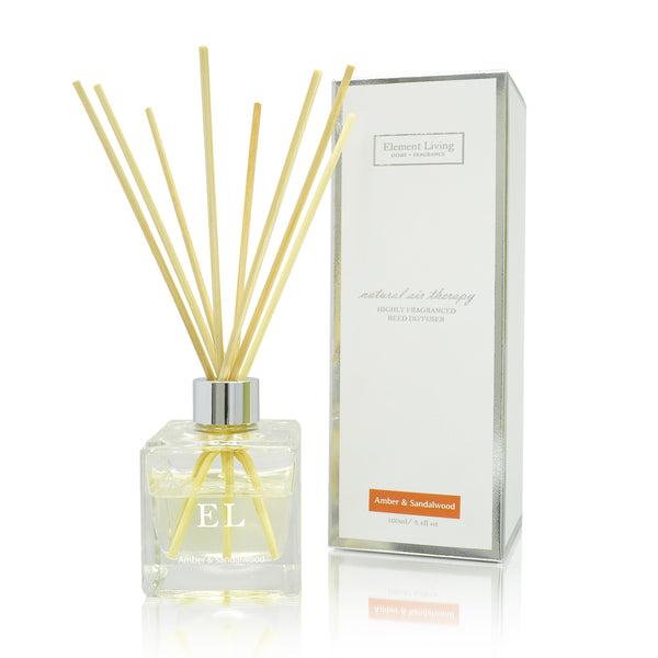 Amber & Sandalwood Fragrance Diffuser | Home Fragrance | Amber
