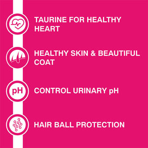 Purepet Adult(+1 Year)  Tuna & Salmon, Dry Cat Food