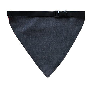 Lana Paws Tuxedo Adjustable Dog Bandana/Scarf, Black, White & Red