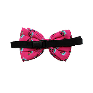 Lana Paws Pink Melons Adjustable Dog Bowtie, Pink