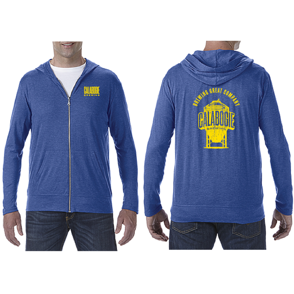 Calabogie Light Zip Hoody - Blue
