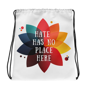Hate Has No Place Here Cinch Bag