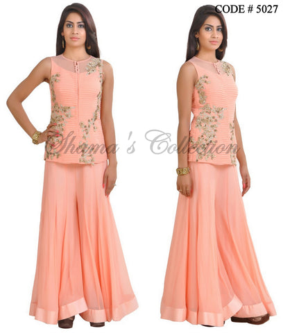 5027 Peach Palazzo and Top