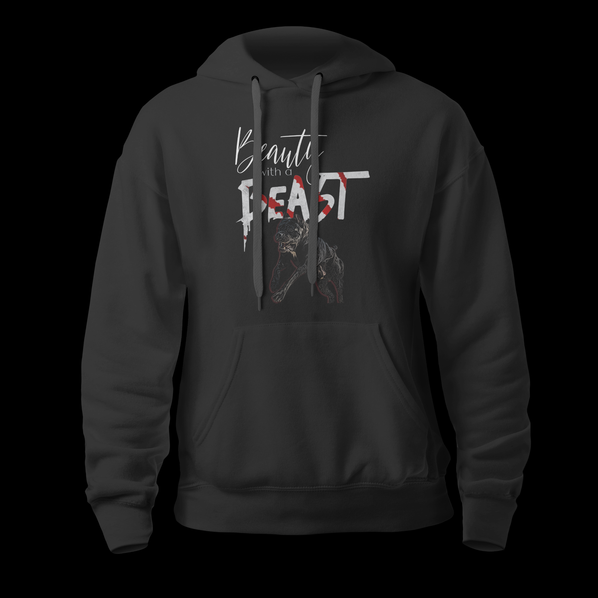 Beauty With a Beast 2.0 Unisex hoodie