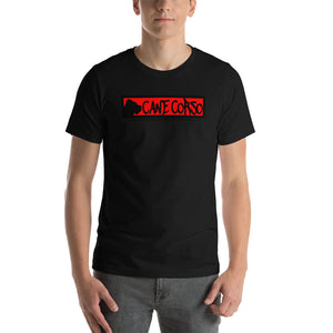 Open image in slideshow, Cane Corso RED Short-Sleeve Unisex T-Shirt