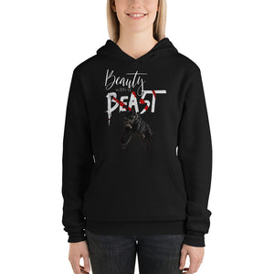 Open image in slideshow, Beauty With a Beast 2.0 Unisex hoodie