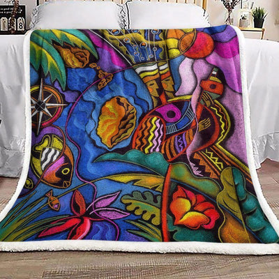 fish-ocean-compass-sherpa-fleece-blanket-pod03fbk031943