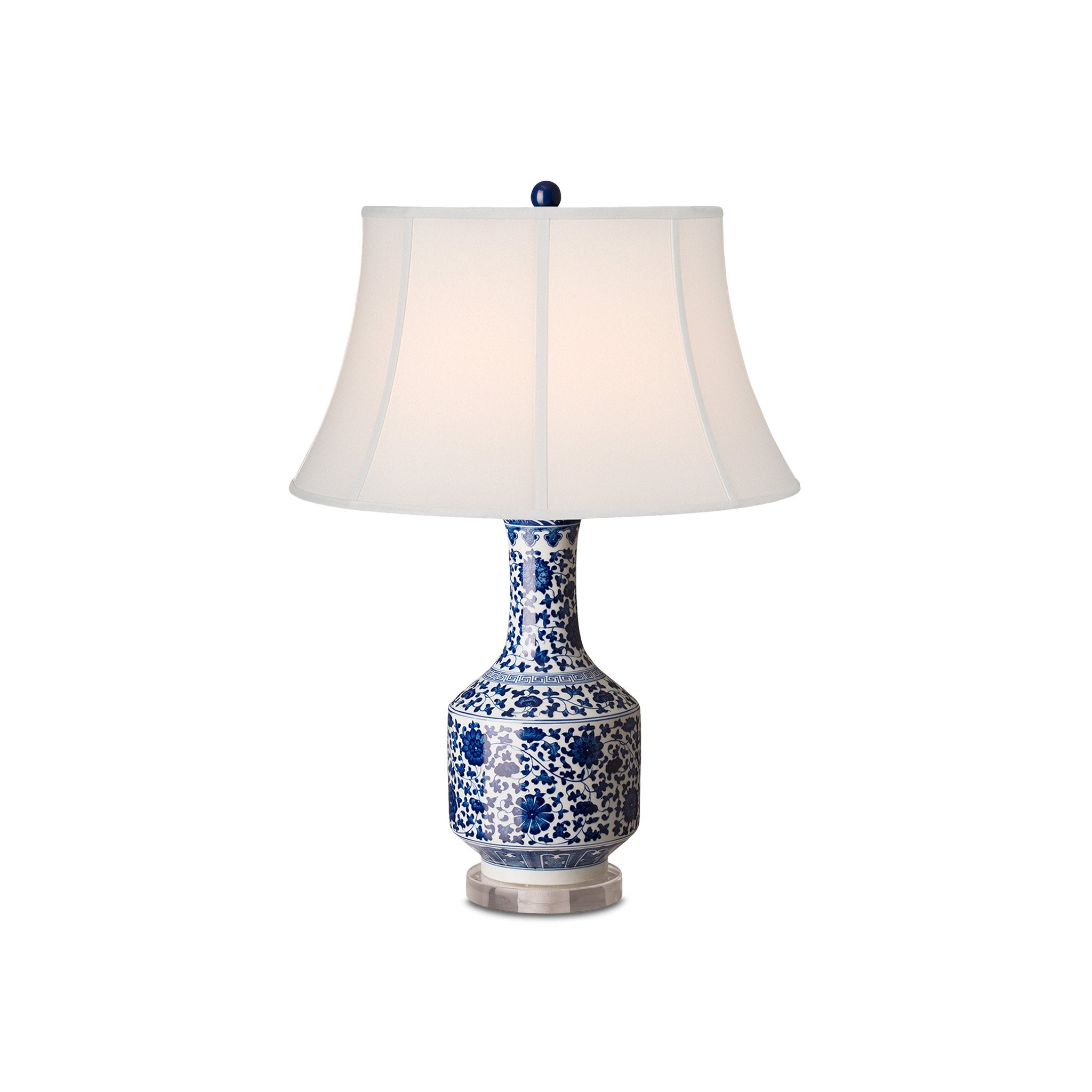 Chinese Blue Lamp